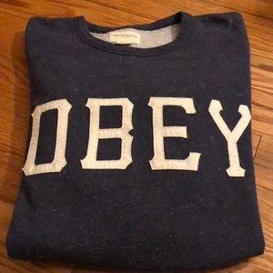 🦋Obey crew neck sweatshirt